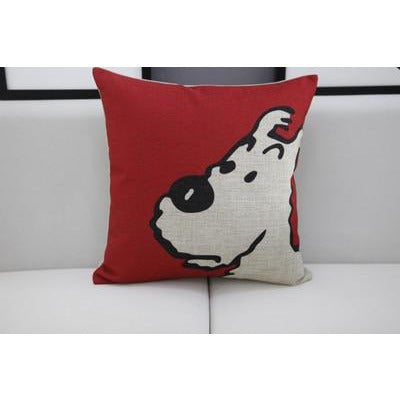 Snowy Soft Pillow Cover - Limited Edition