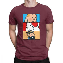 Load image into Gallery viewer, Tintin Snowy Haddock - Soft 100% Cotton Tee