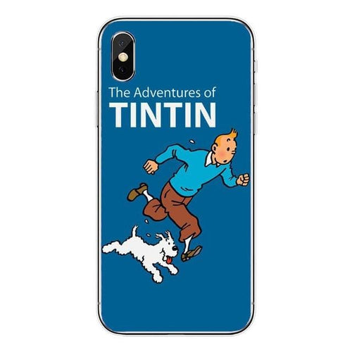 The Adventures Of Tintin - Soft Silicone iPhone Cover Case