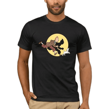 Load image into Gallery viewer, Tintin Spotlight - Soft 100% Cotton Tee