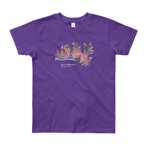 Giant nudibranch- Youth, microplastic-free, fine art T-shirt