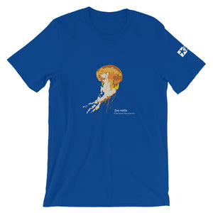 Pacific sea nettle - Fine art, micro-plastic free, unisex t-shirt
