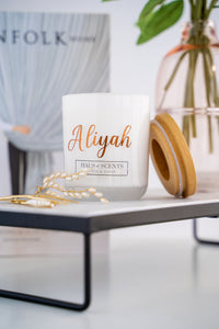 Signature Candle - White