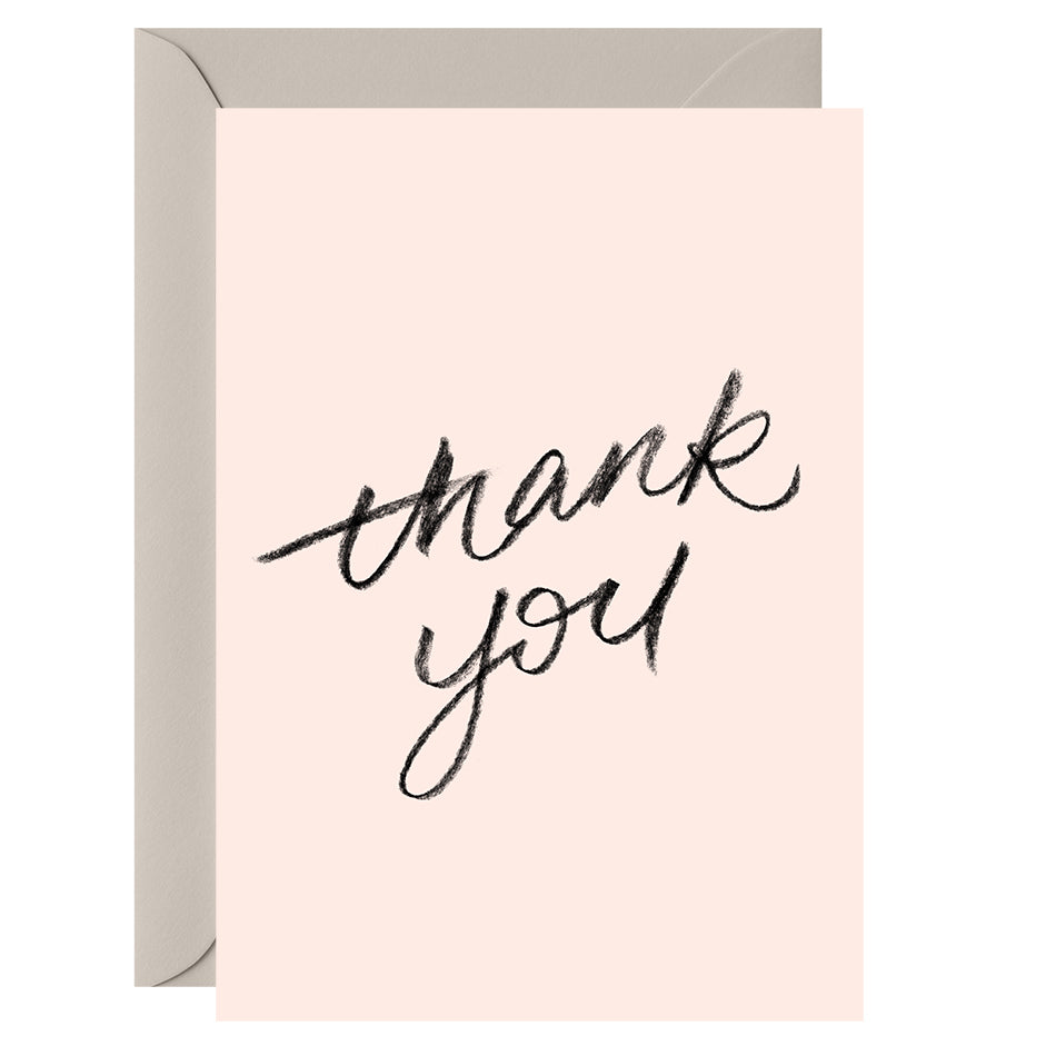 Thank you – Greeting Card