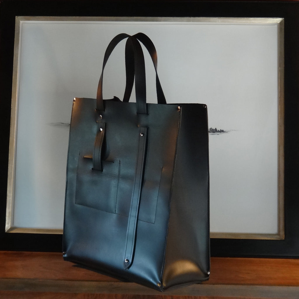 Luxuriously Useful Leather Tote