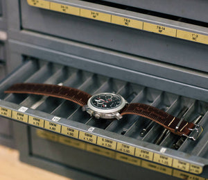Leather Ruler Watch Band