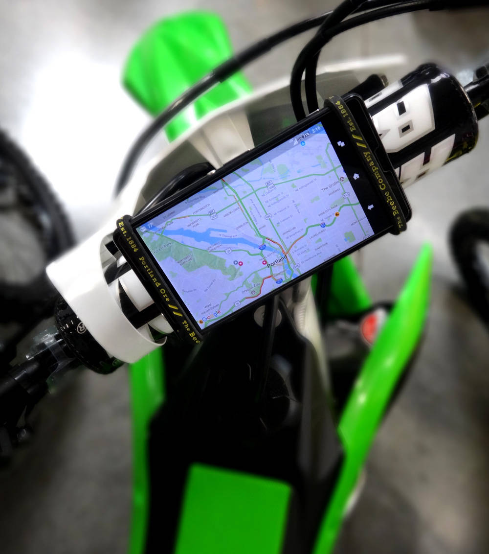Phone Holder For Motorcross Motorcycles UTV Race Cars