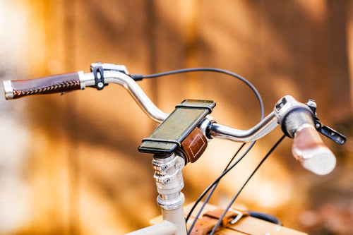 universal phone holder mount for bike handlebars or stem