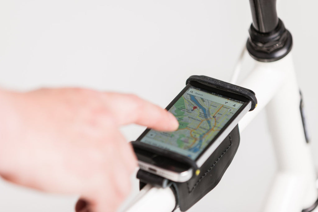 Phone Holder For Bicycle Top Tube / Handlebars