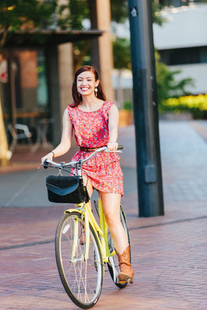 Bike Compatible Crossbody Shoulder Bag