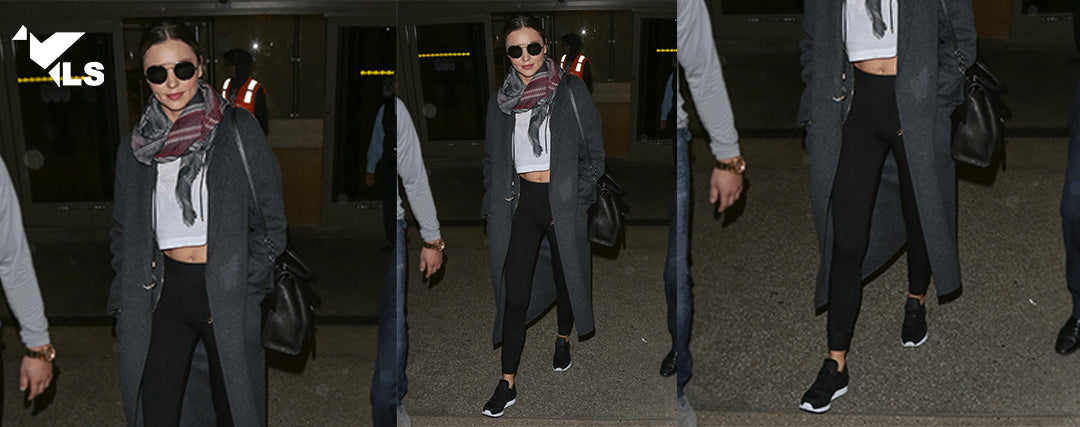 Miranda Kerr en Leggings