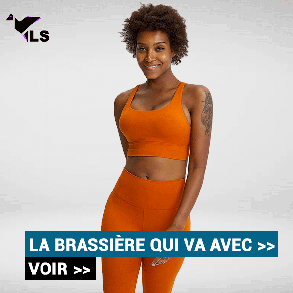 Brassière Yoga Orange