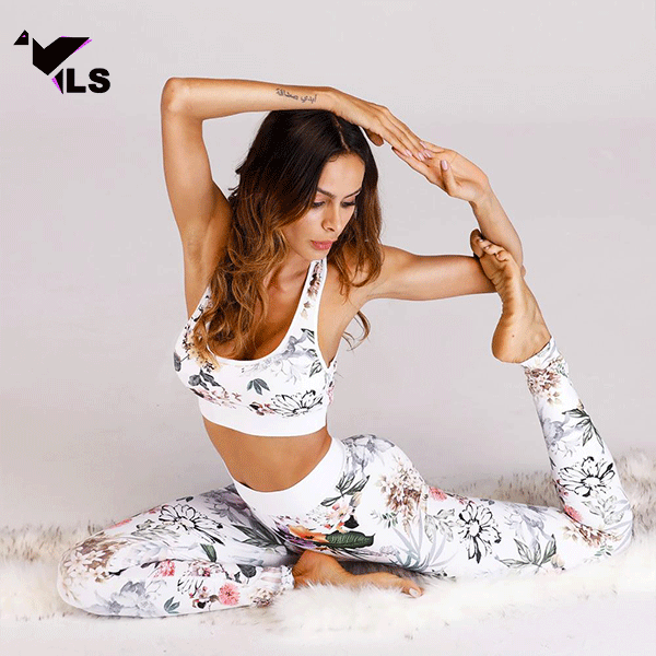 Ensemble Yoga Blanc