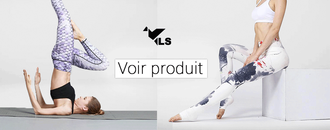 Leggings Yoga Élastique