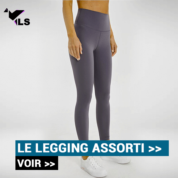 Legging Yoga Gris