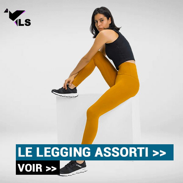 Legging Yoga Jaune