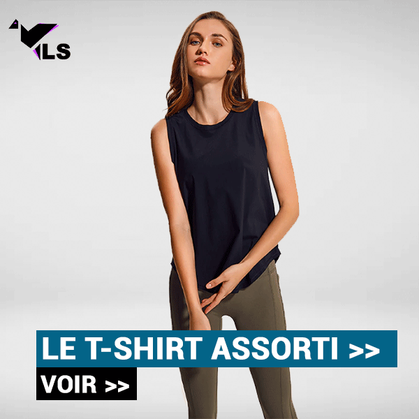 T-Shirt Yoga Noir