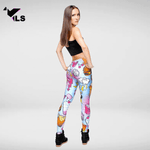 Legging Fantaisie Collant Imprimé Comics
