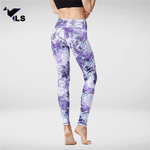 Collant Yoga Violet