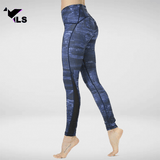 Legging de Fitness Gainant à Bande