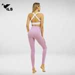 Collant Fitness Workout Rose Fushia