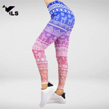 Legging Aztèque Multicolore Alpagas