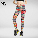 Legging Aztèque à Motif Coloré