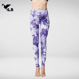 Legging de Pilates Violet