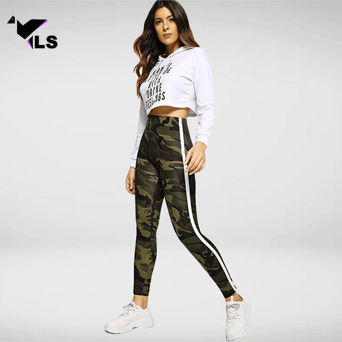 Collant Militaire Camo Army