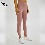 Collant Yoga Bio en Nylon Rose