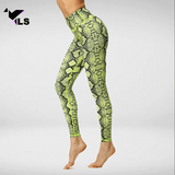 Pantalon Imprimé Serpent
