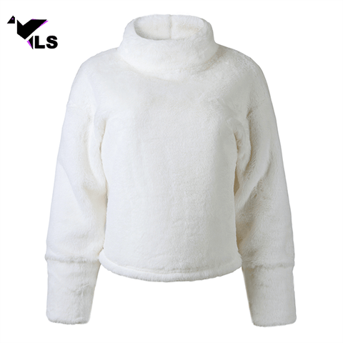 Pull Polaire Blanc