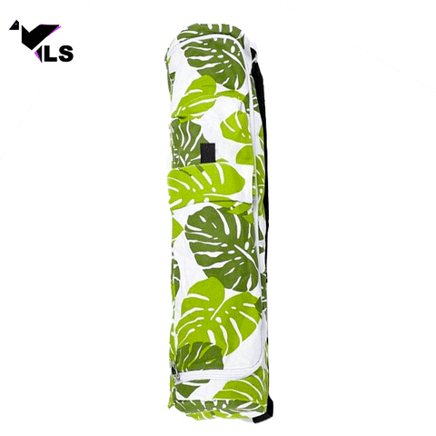 Sac à Tapis de Yoga avec Motif Jungle