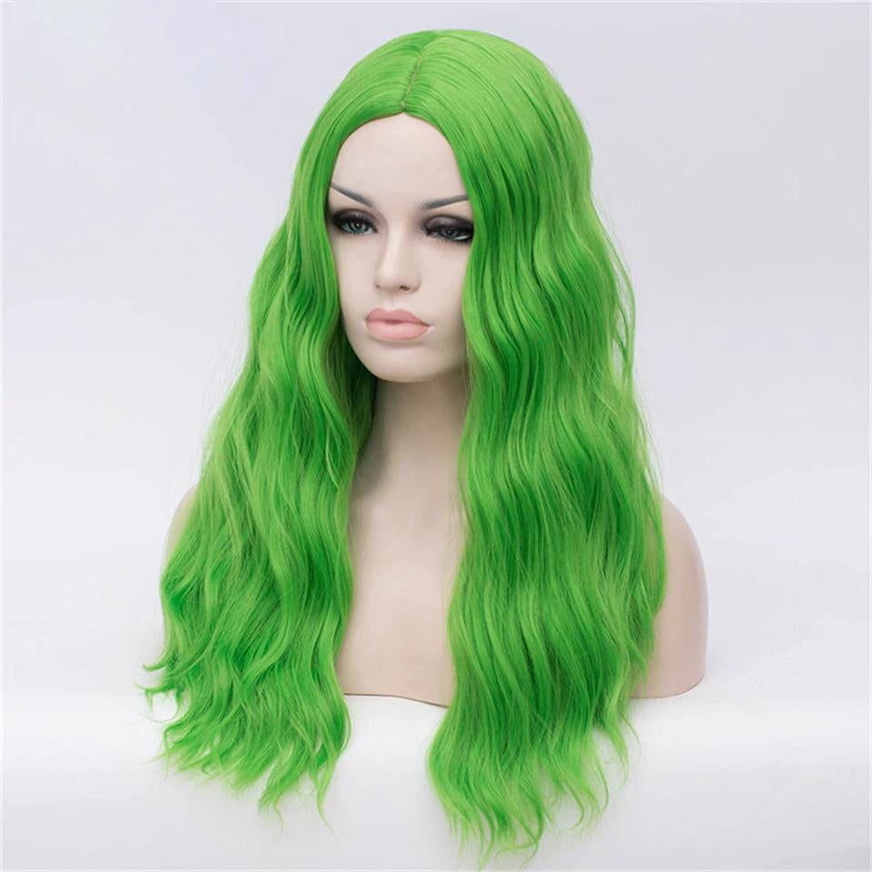 Beaufox Human Hair Green Body Wave 13X4  Lace Front Wig 150% Density