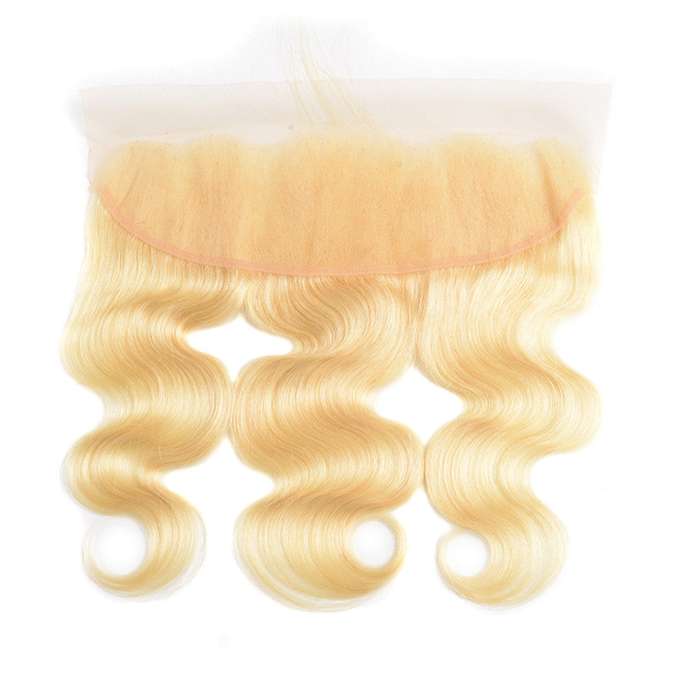 Beaufox Hair 613 Blonde Hair Body Wave 13*4 Lace Frontal