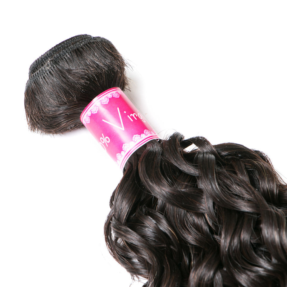 Beaufox Hair Water Hair Natural Black 1 bundle