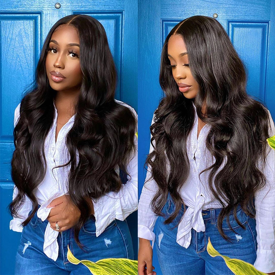 Beaufox Hair 613 Body Wave Virgin Human Hair Blonde 3 Bundles With 13*4 Frontal