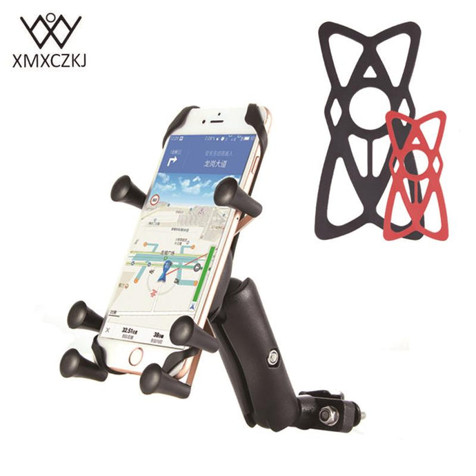 Adjustable Phone Handlebar Mount for Motorcycles/Bicycles/Quads - FREE SHIPPING
