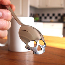 Load image into Gallery viewer, Stainless Steel Skull Sugar Spoon