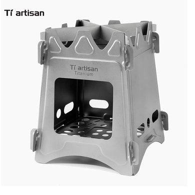 Ultralight Titanium Camping Wood Stove