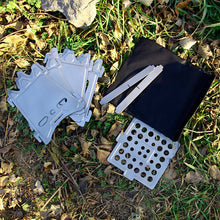 Load image into Gallery viewer, Ultralight Titanium Camping Wood Stove