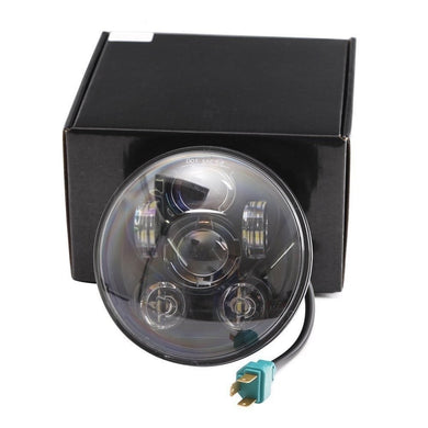 5 3/4 inch led Light for Harley  Black Projector Daymaker Headlamp