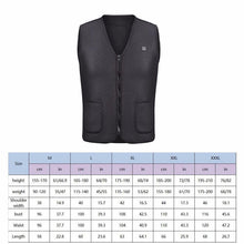 Load image into Gallery viewer, 1PC Black Electric USB Heated Vest