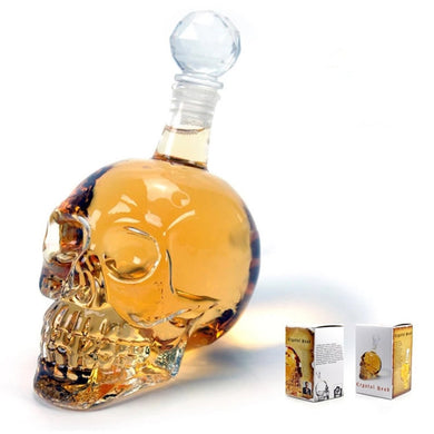 Skull Liqueur Bottle
