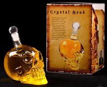 Load image into Gallery viewer, Skull Liqueur Bottle