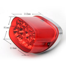 Load image into Gallery viewer, LED Tail Light w/built in turn Signals for Harley Davidson  12V LED