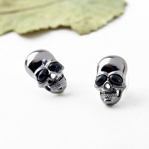 Skull Earrings (Black Eyes)