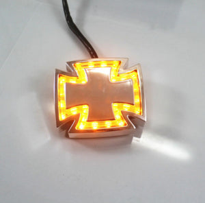 Cross LED Turn Signal Light Indicators 12V