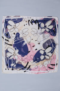 "Darling Down South x Hannah Betzel 100% Silk Scarf ""First Impression"""