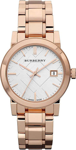 Burberry BU9104 Heritage Rose Gold Swiss Made Womens Watch